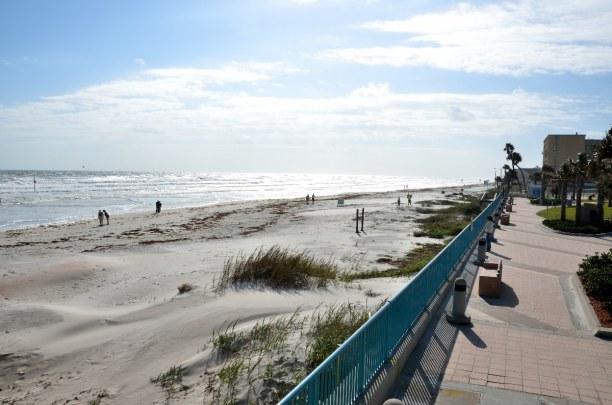 10 Tage Florida, USA, Daytona Beach ist eine Stadt an der Atlantikküste Floridas und besitz