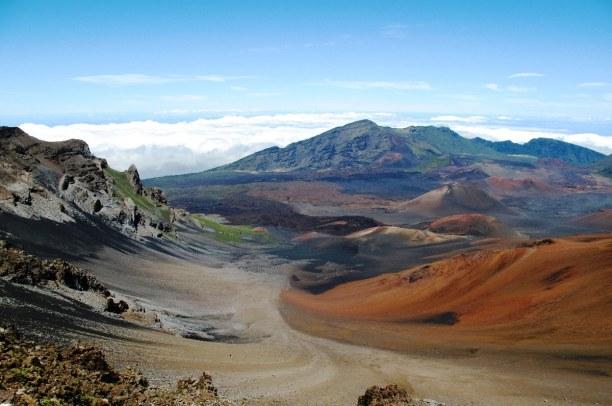 1 Woche Hawaii, USA, Hier in Haleakala auf der Insel Maui gibt es einen Nationalpark. Dort