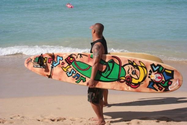 1 Woche Hawaii, USA, Die bekanntesten Strände in Honolulu sind Waikiki Beach oder Moana Be