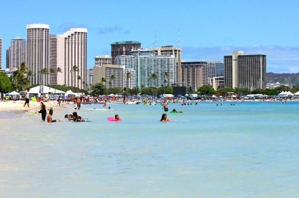 1 Woche Hawaii, USA, Waikiki war im 19. Jahrhundert der Rückzugsort der königlichen Famil