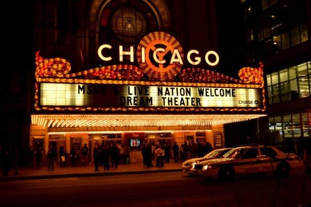 Kurzurlaub Illinois, USA, Eine Führung durch das Chicago Theater kann ich nur wärmstens empfeh
