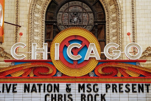 Kurzurlaub Illinois, USA, The Chicago Theatre