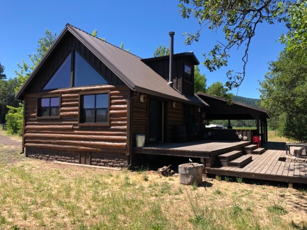 10 Tage Kalifornien, USA, Typical cottage