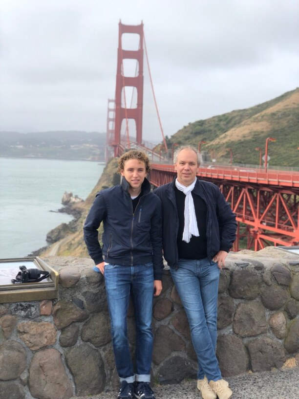 10 Tage Kalifornien, USA, Golden Gate Bridge