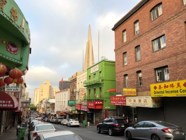 10 Tage Kalifornien, USA, Chinatown, San Francisco