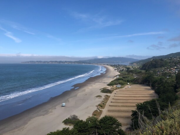 10 Tage Kalifornien, USA, Northern beach of San Francisco