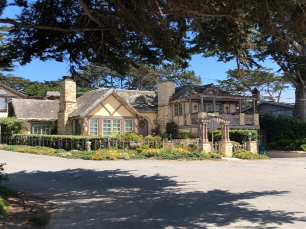 10 Tage Kalifornien, USA, typical house (castle :-) ) at 17-Miles-Drive