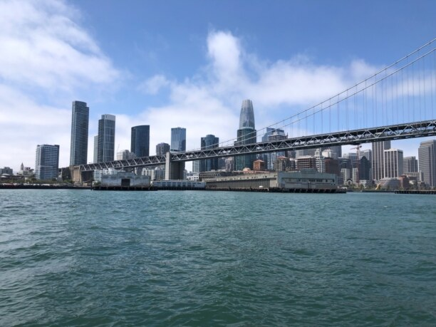 10 Tage Kalifornien, USA, San Francisco-Oakland Bay Bridge