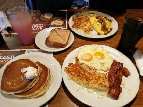 Zwei Wochen Kalifornien, USA, Typisches Amerikanisches Breakfast <3
