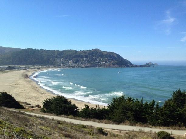 Kurzurlaub Kalifornien, USA, Am Rande von San Franciso findet man den 800 Meter langen Baker Beach.