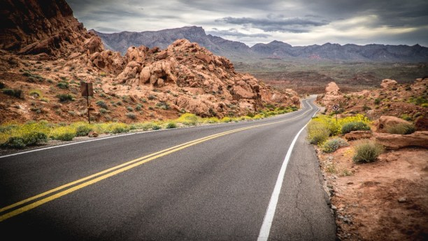 Langzeiturlaub Nevada, USA, Das Valley of Fire liegt rund 80 km von Vegas entfernt und es ist der