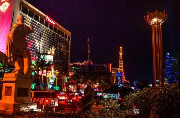 Langzeiturlaub Nevada, USA, In Las Vegas kannst du nicht nur in Venedig landen, sondern auch nach