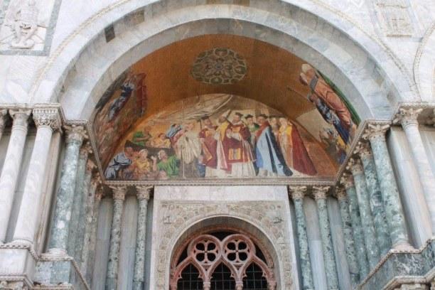 Kurzurlaub Venedig (Stadt), Venetien, Italien, Vor dem Dom