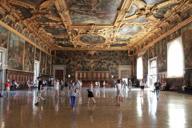 Kurzurlaub Venedig (Stadt), Venetien, Italien, Im Dogenpalast