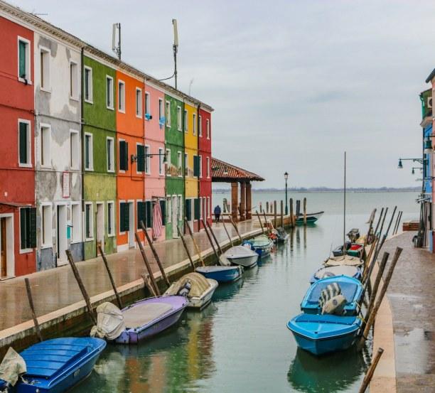 Kurztrip Venedig (Stadt), Venetien, Italien, Für jeden Farb-Geschmack gibt es das passende Haus ;-)