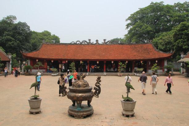 1 Woche Hanoi (Stadt), Vietnam, Vietnam, Literaturtempel