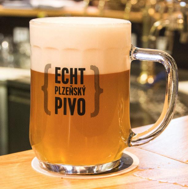 """Kurzurlaub Plzen (Stadt), Westböhmen, Tschechische Republik, Zum Abschluss meiner Bierreise nach Pilsen gibt's noch ein """"echtes Pil"""