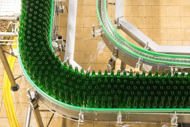 Kurzurlaub Plzen (Stadt), Westböhmen, Tschechische Republik, In der Pilsner Urquell Brauerei wird Bier in großem Stil hergestellt.