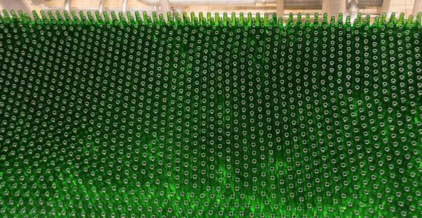 Kurztrip Plzen (Stadt), Westböhmen, Tschechische Republik, Flaschen so weit das Auge reicht!