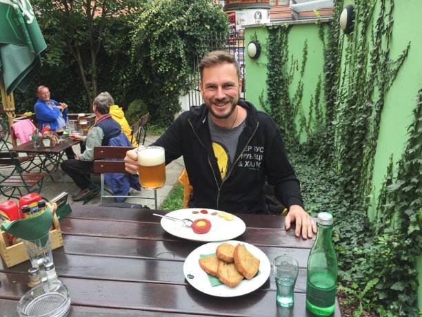 Kurztrip Plzen (Stadt), Westböhmen, Tschechische Republik, Jetzt aber: Ich habe Hunger und Durst!
