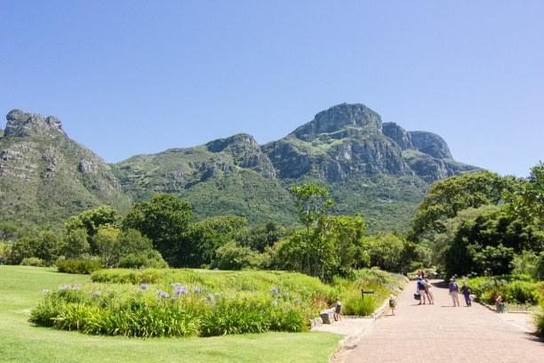 Kurzurlaub Langebaan (Stadt), Westküste, Südafrika, Unseren ersten Zwischenstopp haben wir im Kirstenbosch Botanical Garde