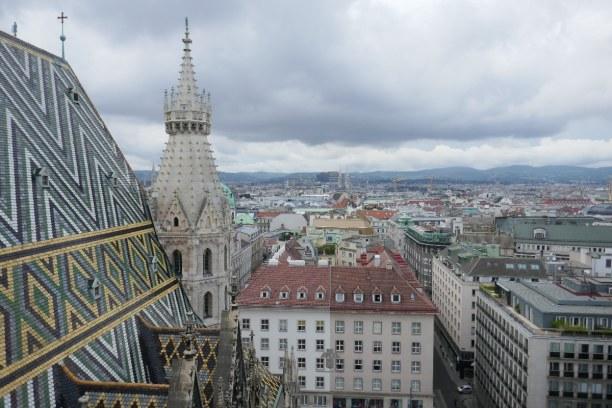 Kurzurlaub Wien (Stadt), Wien und Umgebung, Österreich, Eine schöne Sicht auf die Innere Stadt hat man vom Turm des Stephansd