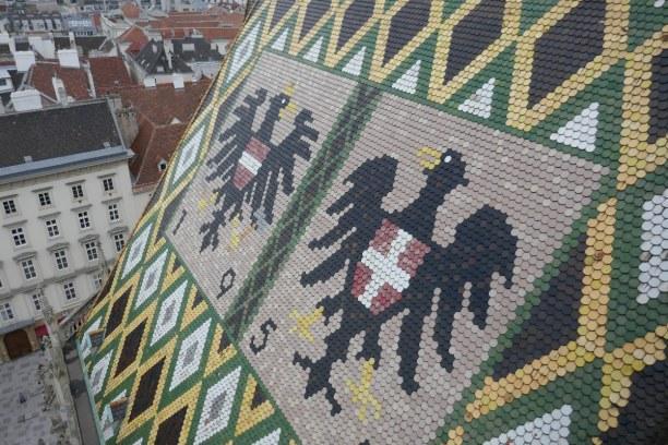 Kurztrip Wien (Stadt), Wien und Umgebung, Österreich, Für diesen Blick fährt man mit dem Lift auf den Nordturm vom Stephan