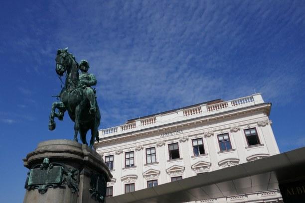 Kurzurlaub Wien (Stadt), Wien und Umgebung, Österreich, Die Albertina ist ein Teil der Hofburg