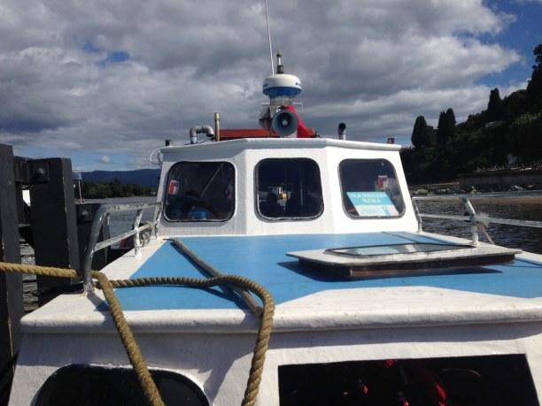 Kurztrip Valdivia (Stadt), Zentralchile, Chile, Eine Bootsfahrt sollte man in Valdiva auf jeden Fall machen. So kann m