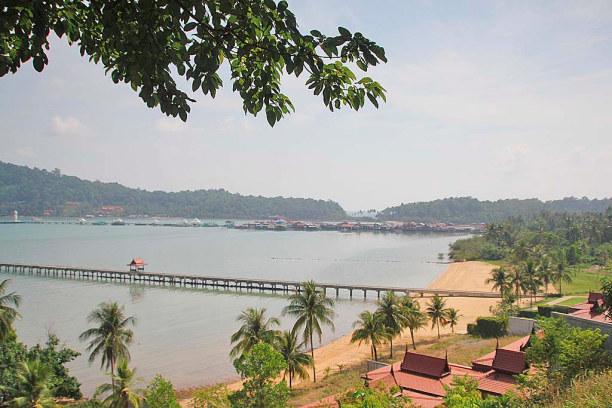 Eine Woche Ko Chang (Stadt), Zentralthailand, Thailand, Bang Bao Bay