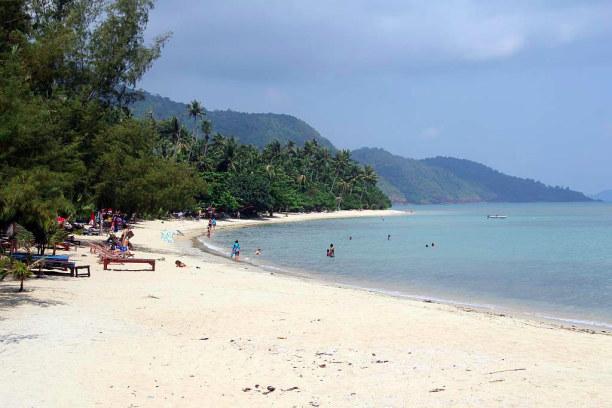 1 Woche Ko Chang (Stadt), Zentralthailand, Thailand, Klong Kloi Beach